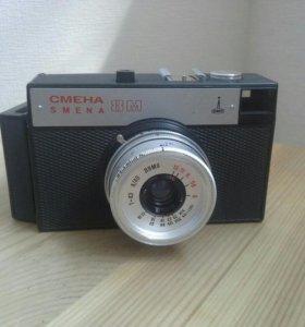 Фотоаппарат Смена 8М с чехлом