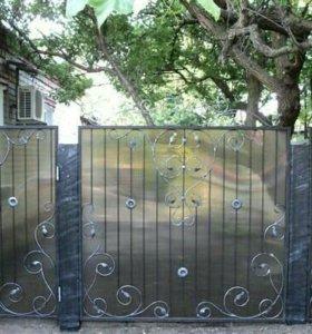 Ворота Художественная ковка.