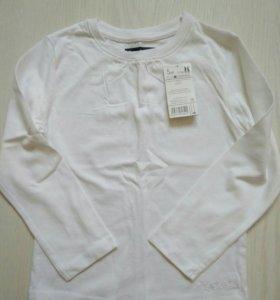 Новая блуза (лонгслив), с ярлыком.
