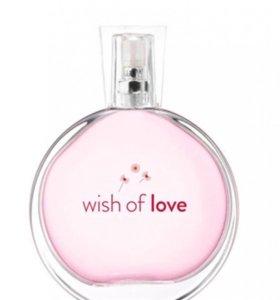 Туалетная вода Wish of Love, 50 мл Avon