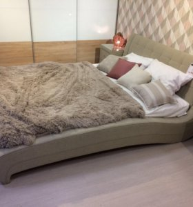 Кровать Milano 1600*2000 + 2 тумбочки! (новая)