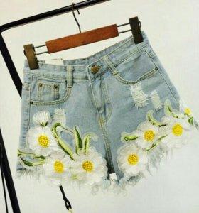 Шорты джинсовые новые!