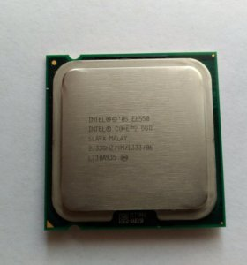 Процессор Intel Core 2 Dou E6550, 775 socket