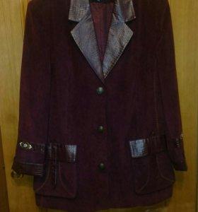 Вельветовый пиджак - ветровка