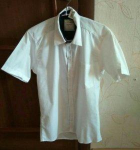 Мужская рубашка новая с биркой размер 44-46.