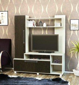 Продам стенку под телевизор новую