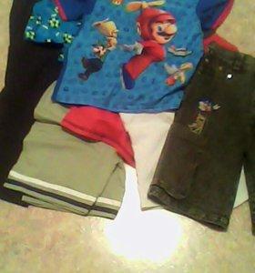 Пакет вещей на мальчика 4-5 лет