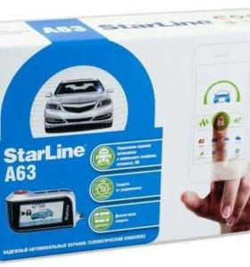 Автомобильная сигнализация Starline A-63