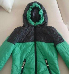 Куртка, весна, осень, тонкий синтепон