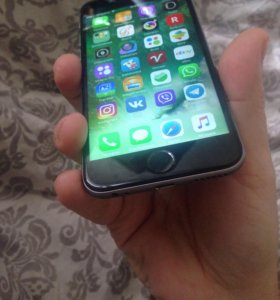 iPhone 6s space gray 16ggb