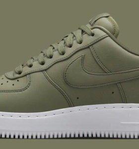 Nike Air Force найк аир форс зеленые болотные