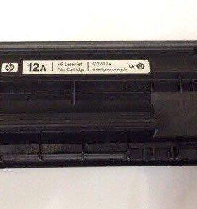 Оригинальный картридж HP LaserJet Q2612A