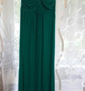 Новое трикотажное платье инсити