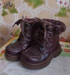 Ботинки осень теплая зима
