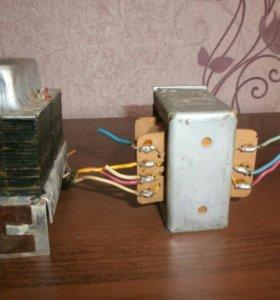 Трансформаторы от ламп.радиолы