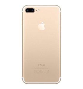 iPhone 7plus gold Ростест на гарантии apple