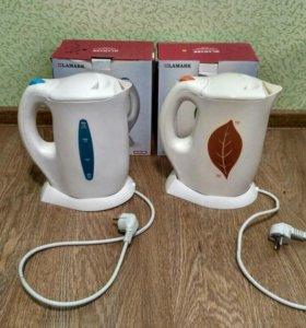 Чайник электрический Lamark на запчасти