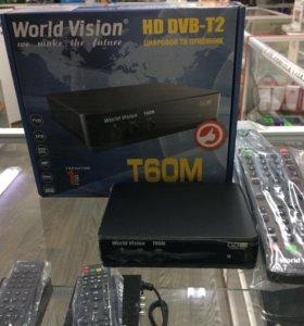 Цифровая приставка World Vision T60M