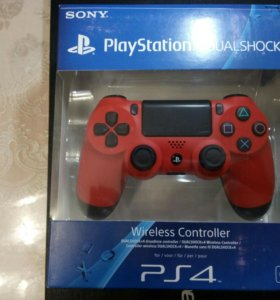 Геймпад DualShock 4 New красный