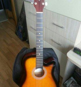 🎼Анкерная гитара Arbello 38C-BS