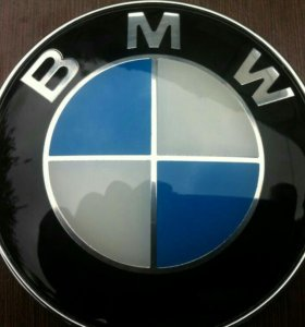 Новые эмблемы (значки) бмв 82 мм