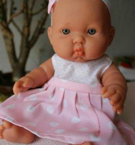 Кукла Auxigar Onil 32 cм девочка в розовом сарафан