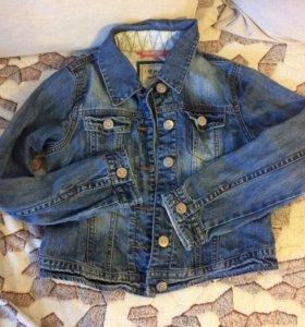 Джинсовая куртка на девочку NEXT