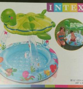 Продам детский надувной бассейн