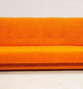 Диван Комфорт (Оранжевый)