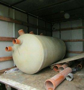 Монтаж канализации и септиков.