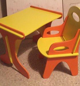 Детская мебель (стол + стул)