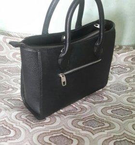 Кожаная сумка MOROM