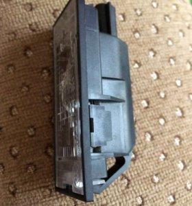 Новый плафон освещения заднего номера Рено Меган 3