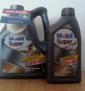Масло моторное Mobil super 3000 5w40 Diesel 4л
