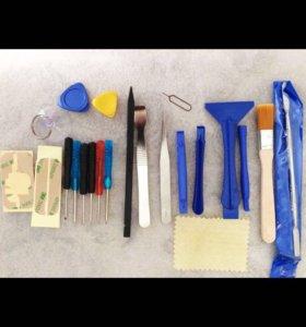 Инструменты для разборки и сборки телефоны