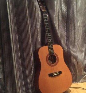 Акустическая гитара Hohner HW220(чехол, ступенька)