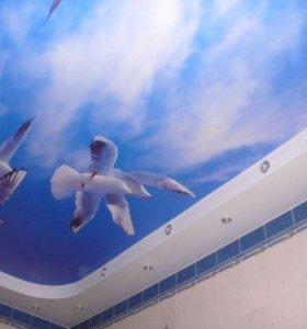 Качественный натяжной потолок. Гарантия 11 лет