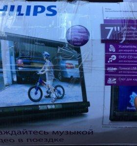 Автомагнитола Philips 2DIN CED1700/51