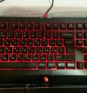 игровая клавиатура bloody b110 новая со склада