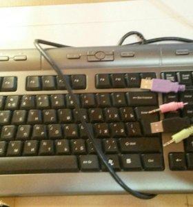 новая офисная клавиатура со склада