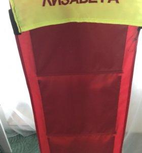 Кармашек на шкафчик в детском саду