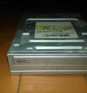 Дисковод DVD rw и диск 3.5А