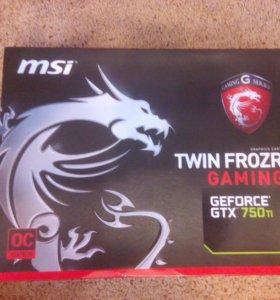 Видеокарта MSI GTX 750 ti