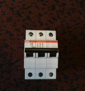 Автоматический выключатель 3П, 50А