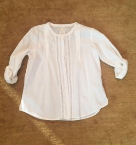 Летняя белая блузка Zara р. 164 13-14 лет