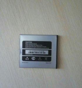 Батарейка на micromax q415