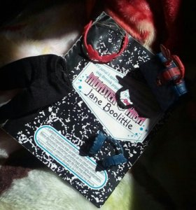 "Кукла Monster High ""Gane Boolittle"""