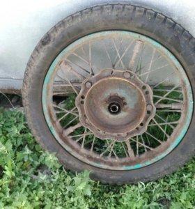Колесо от мтоцикла Урал
