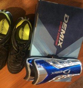 Футбольные ботинки+ щит