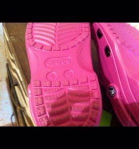 Резиновая обувь crocs